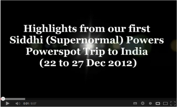 Please click on picture above to view video featuring miracle encounters from our trip attendees.