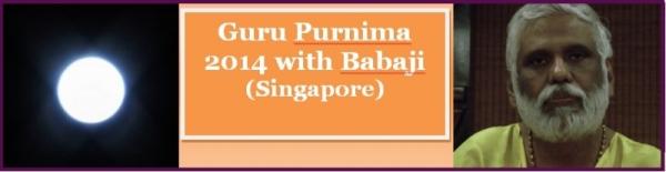 Guru Purnima with Babaji Banner