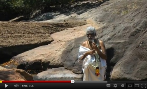 Click on picture to watch Dr Pillai (Baba) speak about Coutralam and the siddhas. According to Baba, the siddhas are so powerful that even the gods and goddesses do not dare displease them.