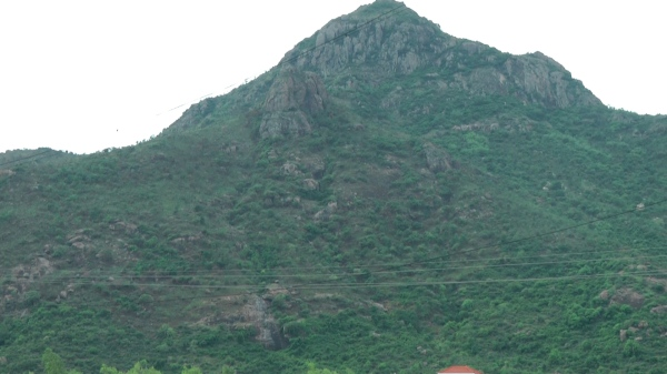 Mount Arunachala which is said to be the very embodiment of Lord Shiva