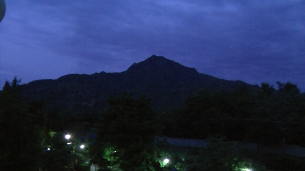 Mysterious Mount Arunachala by night
