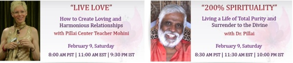 Don't Miss Mohini and Baba's back-to-back LIVE Google Hangout
