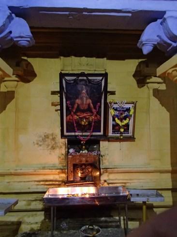 At Patanjali's Samadhi Shrine