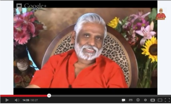Click on Dr Pillai's picture to listen to the call
