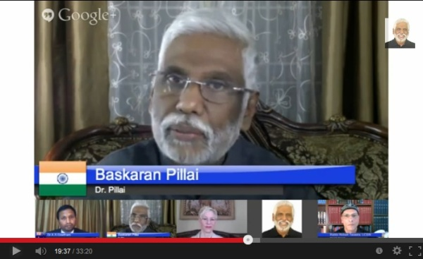 Click on Baba's picture to watch this Hangout