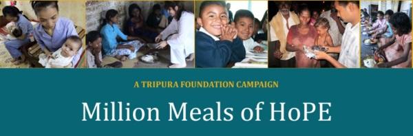 Million Meals Banner