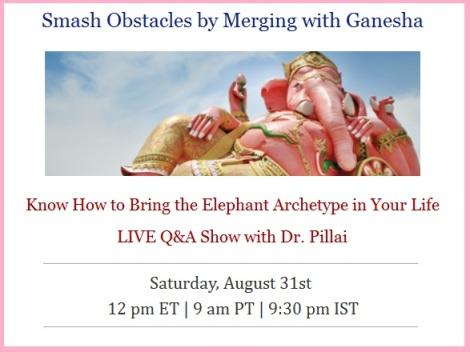Ganesha hangout with Baba