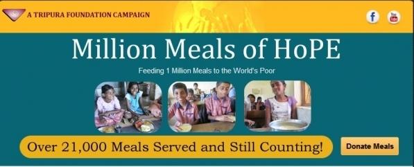 Million Meals of Hope Banner