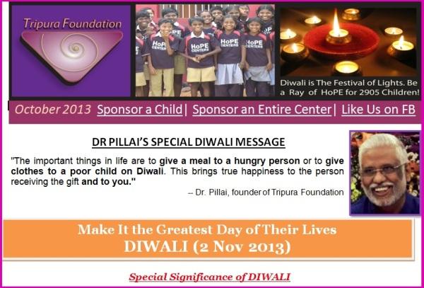 Tripura Diwali Banner