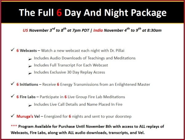 Murugan Full Package Details