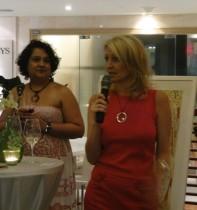 Heather speaking