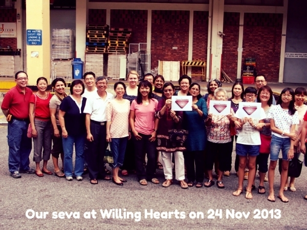 Willing Hearts Visit
