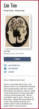 Lin Teo Art Bio