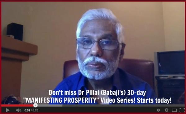 Babaji Manifesting Prosperity (High)