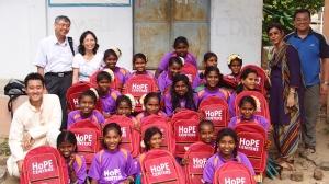 Tripura Foundation's Ambassador of HoPE Trip May 2014