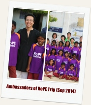 Tripura Foundation's Ambassadors of HoPE