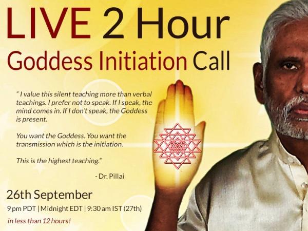 Babaji Live Initiation 26 September 2014