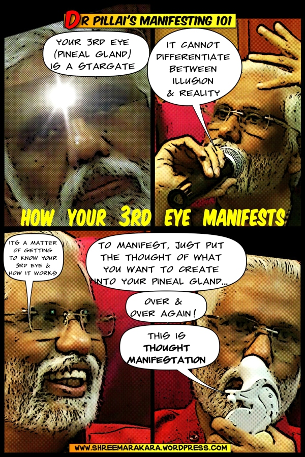 Dr Pillai Comics: How 3rd Eye Manifests (Edit)