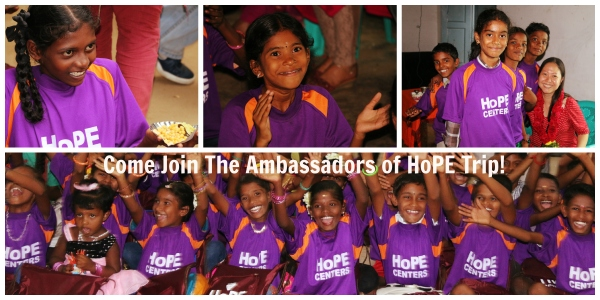 Ambassadors of HoPE Trip (Sep 2014)