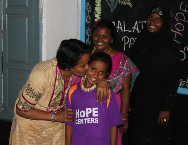Sarada on the Ambassador of HoPE Trip 2014