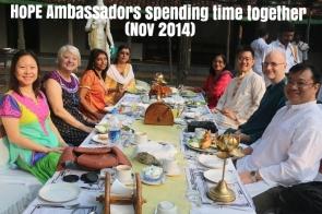 Ambassadors Chilling Out