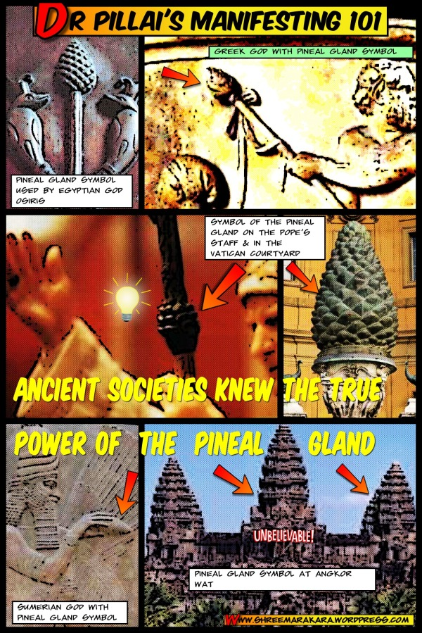 Dr Pillai Comics: Ancients Knew Secret of Pineal Gland