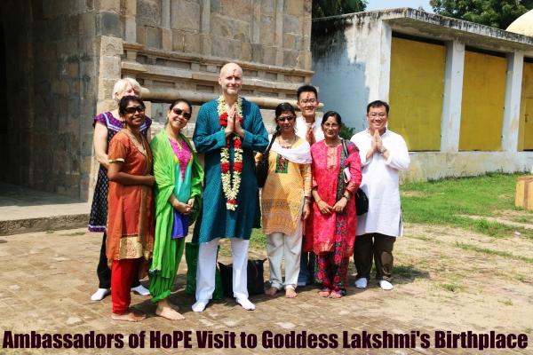 AOH Visit to Goddess Lakshmi's Birthplace