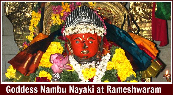 Goddess Nambu Nayaki (Rameshwaram)