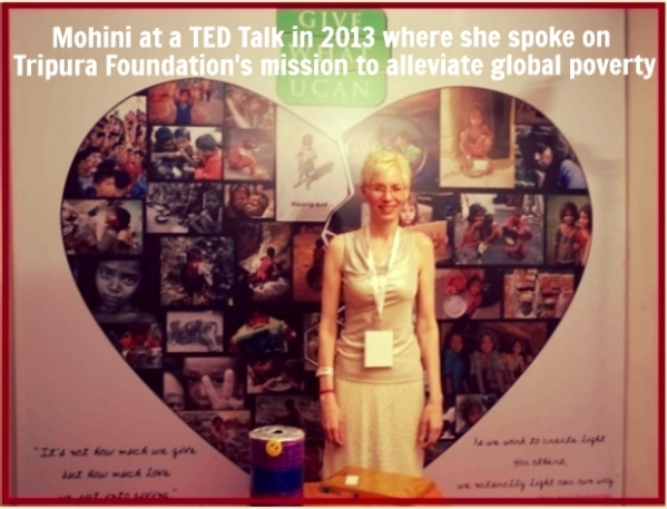 Mohini at a TED Talk 2013