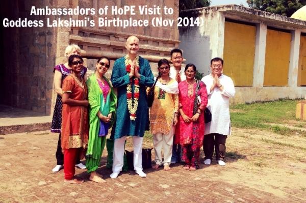Ambassadors Lakshmi Birthplace Nov 2014