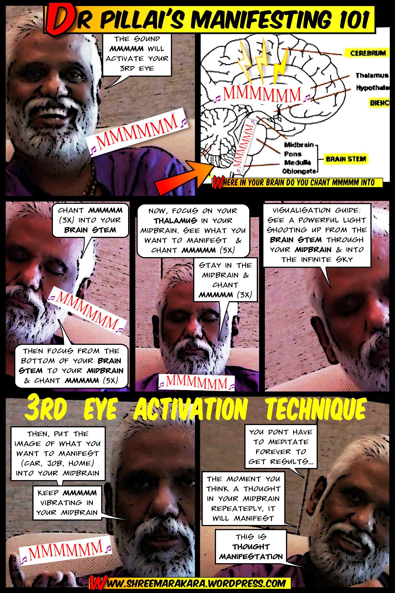dr pillai comics dr pillai s third eye activation technique part