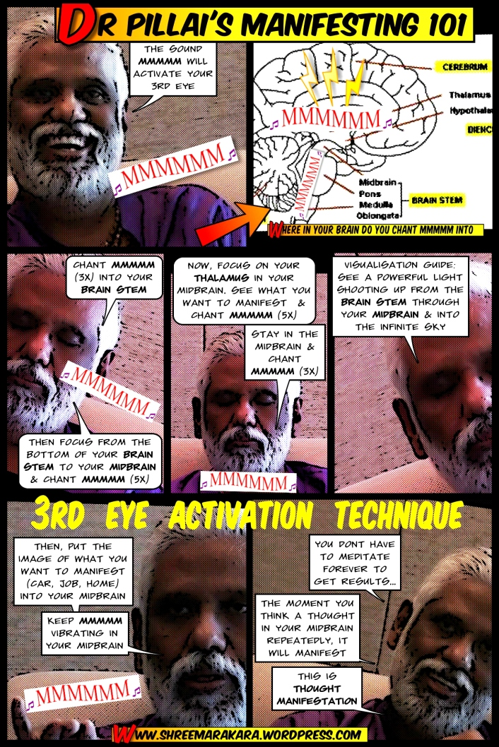 Dr Pillai's 3rd Eye Activation Technique (Edit)(8 Dec 2014)