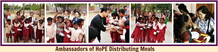 Distributing Meals