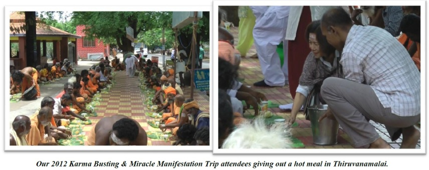 AOH Trip Feeding the poor