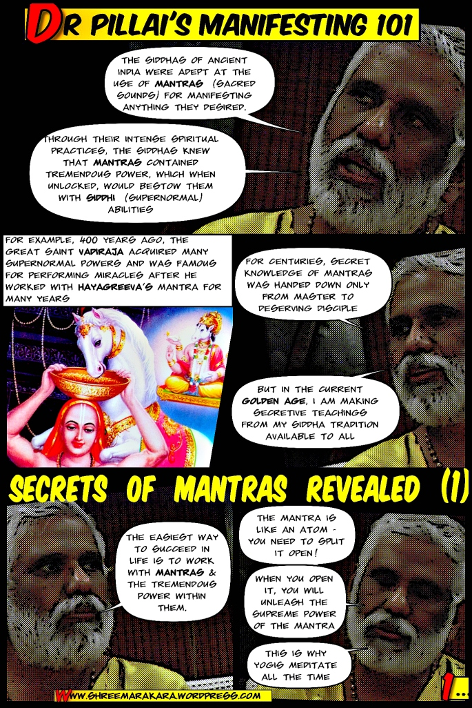 Dr Pillai Reveals Secrets of Mantras (Part 1)(ShreemArakara)