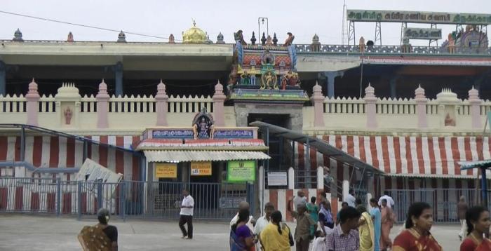 Muruga's Temple at Tiruthani Front Exterior (ShreemArakara)