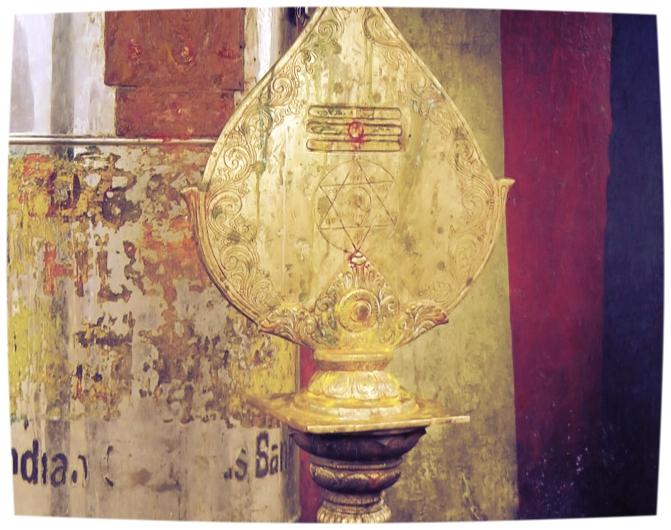 Muruga's Vel at Tiruthani (Shreemarakara)