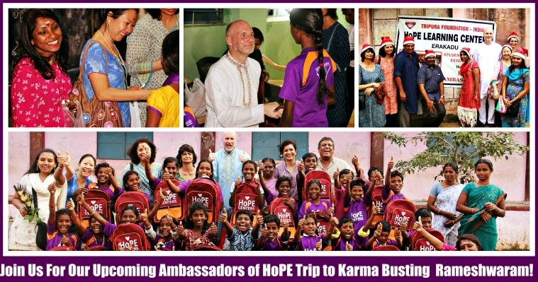 Ambassadors of Hope Trip to Rameshwaram + Goddess Nambu Nayaki+ Siddha Patanjali Visit