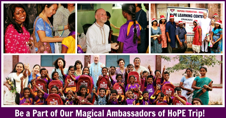 Dr Pillai Ambassadors of HoPE