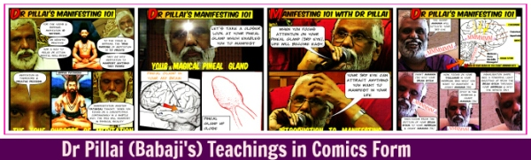 Babaji's Teaching in Comix Banner