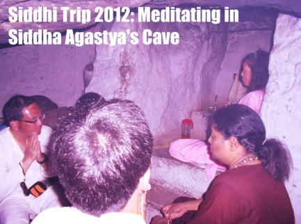 Meditating At Siddha Agastya's Cave