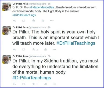 Dr Pillai Live Twitter