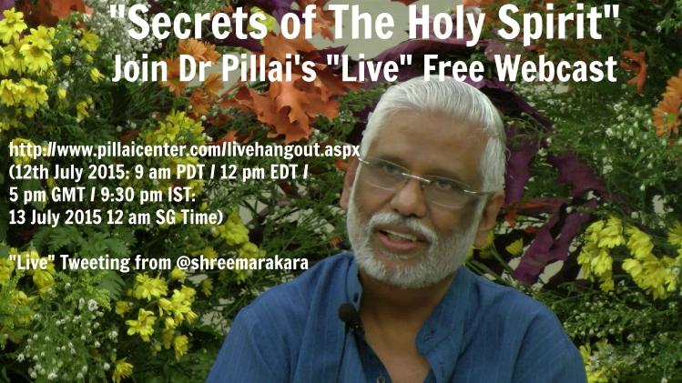 Dr PIllai Secrets of the Holy Spirit (H)