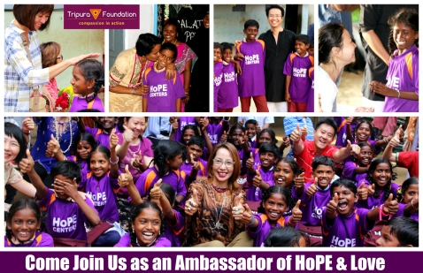 Join Us as An Ambassador of HoPE