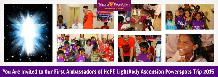 AOH Light Body Trip to India
