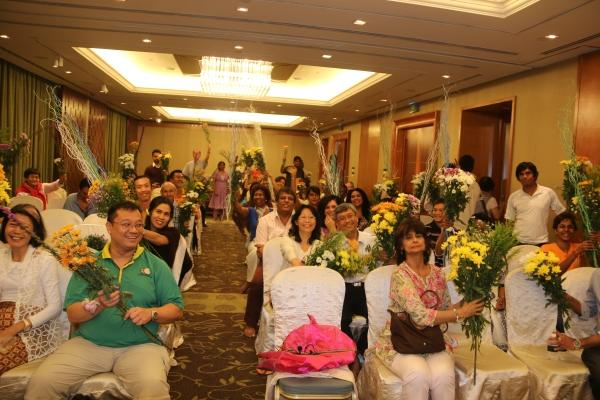 Dr Pillai's Guru Purnima 2014 in Singapore