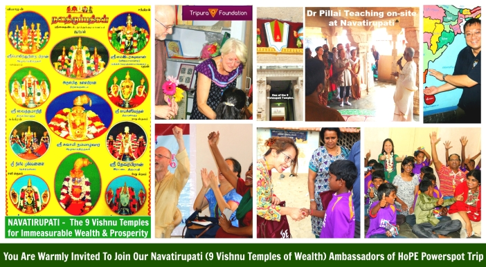 Ambassador of HoPE Trip to Navatirupati 99 Vishnu Temples of Wealth)