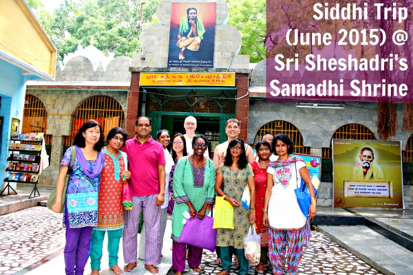 Siddhi Trip June 2015 @ Sri Sheshadri (Master)