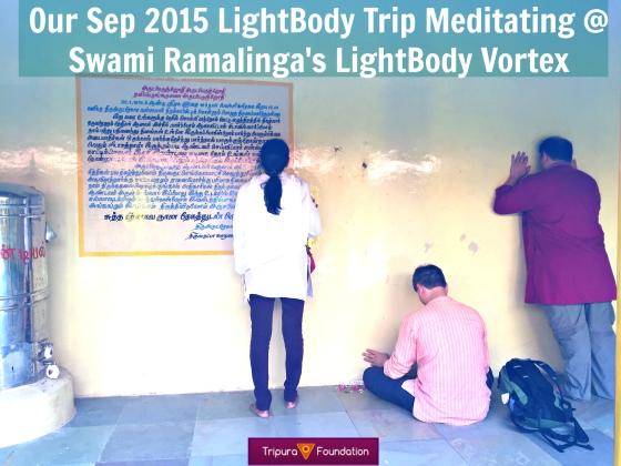 Meditating at Swami Ramalinga's House Edit 2