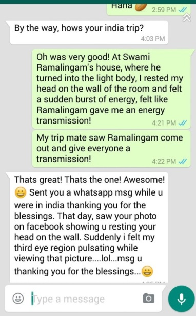 Swami Ramalinga Double Miracle